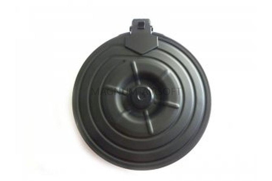 Магазин Cyma RK47 2500 шаров бункерный, круглый, c электроподачей, металл C.38