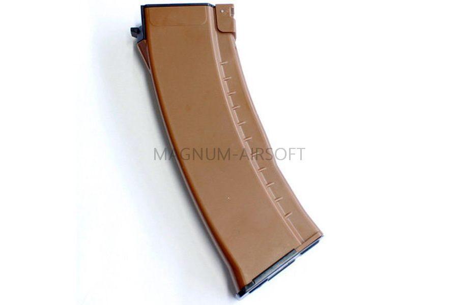 MAGAZIN EL 120 sharov Bakelite Brown mekhanitcheskiy dlya RK74 EL 1102 08 2 900x600 - Магазин E&L 120 шаров (Bakelite, Brown) механический для RK74 EL-1102-08