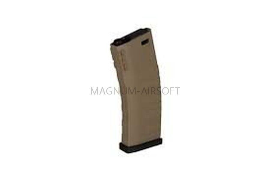 МАГАЗИН G&G for GR16 (AEG, 120 шаров, механический, тан/черный) G-08-101-3