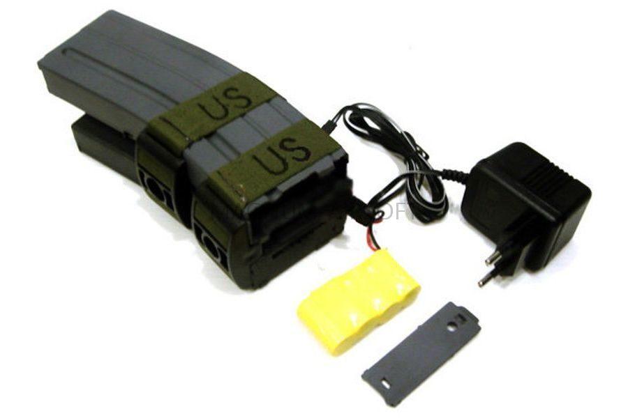Магазин бункерный M4 Sound Control с ЗУ 1200 шаров 698-6A