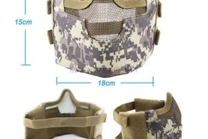 МАСКА Tactical V8 на нижнюю часть лица AS-MS0088OD