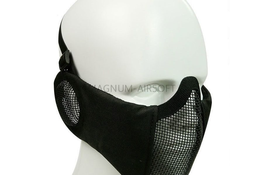МАСКА на нижнюю часть лица с защитой ушей AS-MS0086B