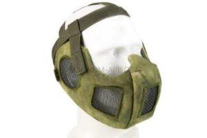 МАСКА на нижнюю часть лица с защитой ушей AS-MS0087B