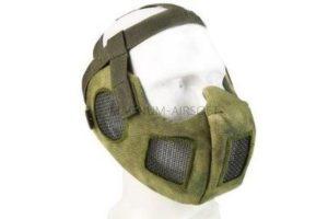 МАСКА на нижнюю часть лица с защитой ушей AS-MS0087CP