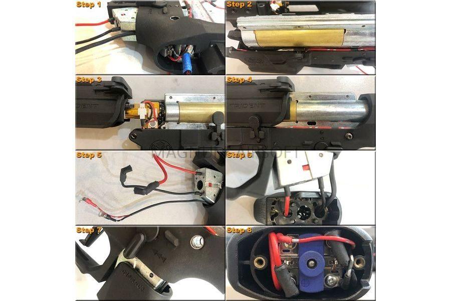 MAXX CNC Aluminum Hopup Chamber TE PRO w LED 2 1 900x600 - MAXX CNC Aluminum Hopup Chamber TE - PRO w/ LED (с подсветкой)