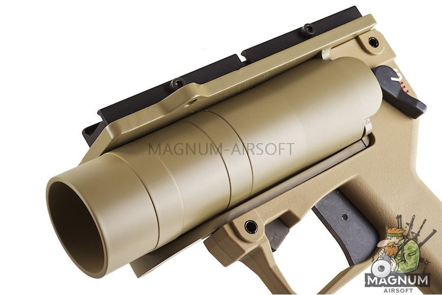 Madbull AGX Pistol BB / Paintball Launcher - Light Version (Tan)