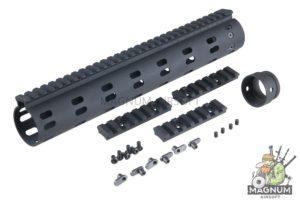 Madbull Daniel Defense Licensed Modular Float Rail 12inch - Black