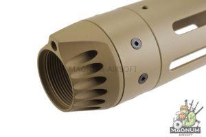 Madbull JP Enterprise Handguard Mid 9.8 inch for M4/M16 Series - TAN
