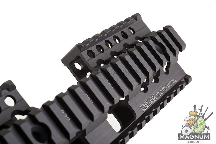 Madbull Daniel Defense Omega X Rail FSP (12 Inch / Black)