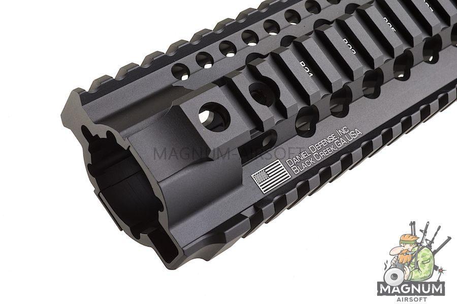 Madbull Daniel Defense Omega X Rail (9 Inch / Black)