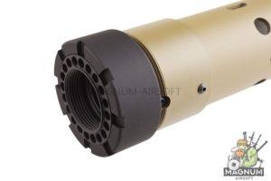 Madbull PRI licensed GIII Round 7 inch Rail w/ Extra Adjustable Rail Sections - TN (Mat. Carbon Fiber)