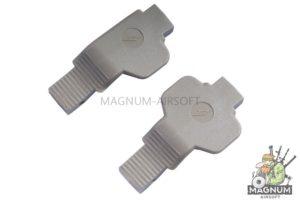 Madbull SI COBRA Ambi / Left Polymer Trigger Guard Combo-2 Pack. (FDE Tan)