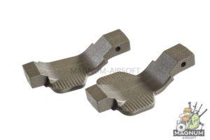 Madbull SI COBRA Ambi / Left Polymer Trigger Guard Combo-2 Pack. (OD)
