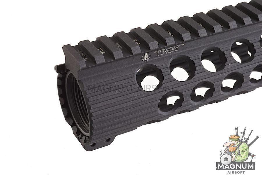 Madbull Troy Licensed TRX BattleRail 13 inch w/ 3 bonus Quick-Attach Rail Sections.