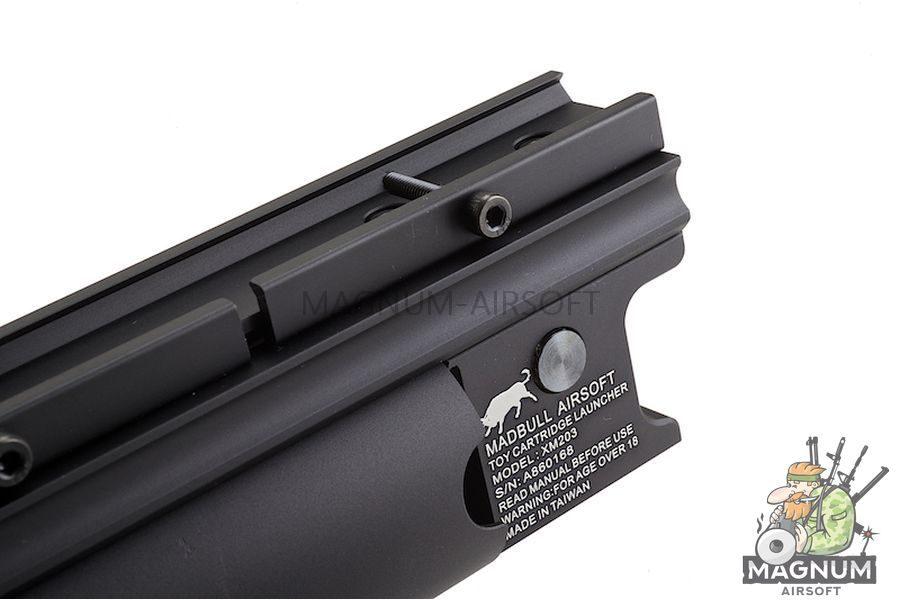 Madbull XM203 BB Launcher Black (Short)