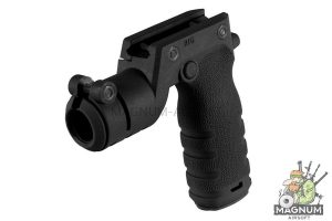 MFT React Torch and Vertical Grip (RTG). Vertical grip with illumination mount - BK