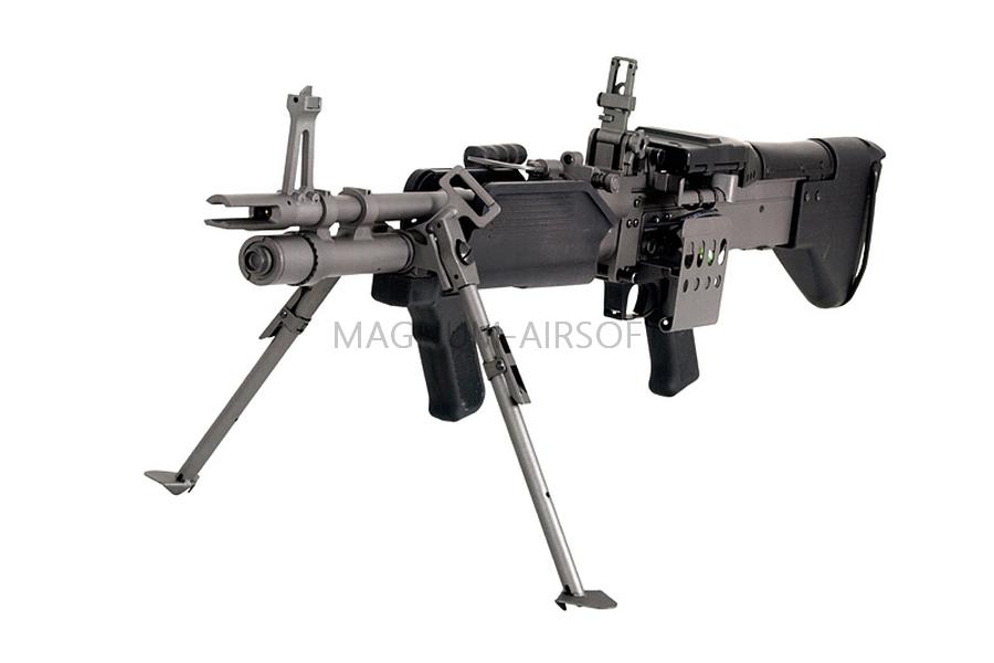 ПУЛЕМЕТ MK43 AEG, A&K, металл, короб