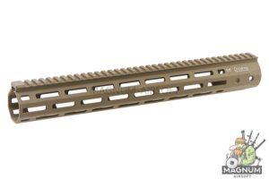 ARES 380mm Handguard Set for M-Lok System - Dark Earth