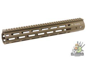 ARES 345mm Handguard Set for M-Lok System - Dark Earth
