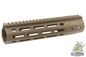 ARES 233mm Handguard Set for M-Lok System - Dark Earth