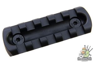 ARES 5.5 inch Metal Key Rail System for M-Lok System (2pcs / Pack)