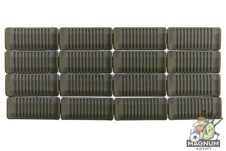 ARES Plastic M-Lok Rail Cover Set - Olive Drab