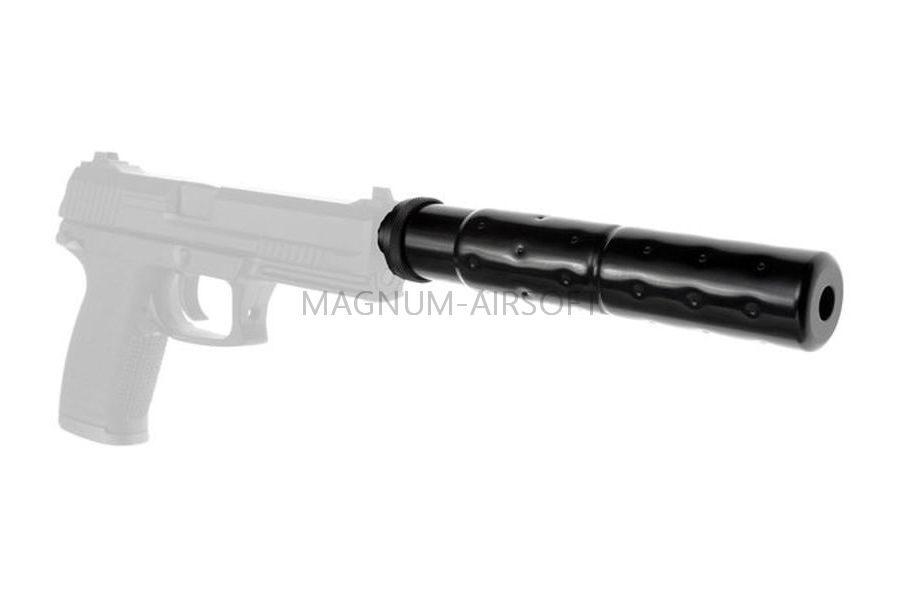 Модератор CA Socom MK23 металлический 14мм резьба обратная - A034M