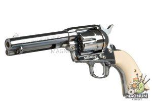 Marushin SAA .45 Peacemaker X-Cartridge Series (Super Chrome Silver)