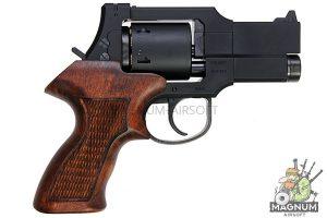 Marushin Mateba Revolver 6mm X-Cartridge Series 3 inch Matt Black