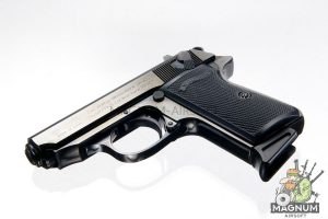 Maruzen Walther PPK/S - Black Metal Finish Version