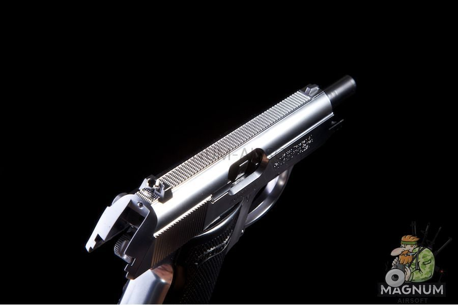 Maruzen PPK/S (New / Silver) (Licensed by Umarex / Walther)