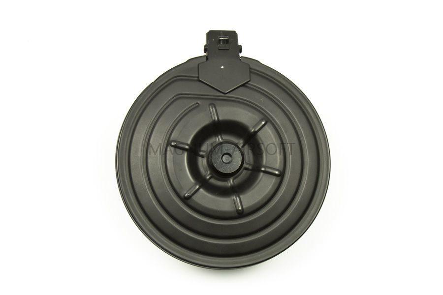 Магазин Cyma RК-47/R.P.K. 2500 шаров бункерный, круглый, c электроподачей, металл, soundcontrol C.38C