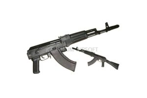 Макет массогабаритный АК-74М (складной пластиковый приклад)