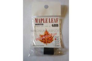 Maple Leaf Hop up rubber 60° Monster GBB/VSR-10
