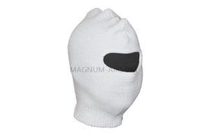 Маска-шлем 1й вязки (белая)