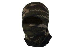 Маска-шлем 1й вязки (камуфляж)