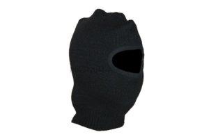 Маска-шлем 1й вязки (черная)