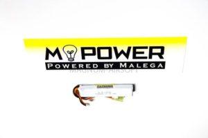 Аккумулятор Mpower 11,1 Li-Po 15C 1000 короткий