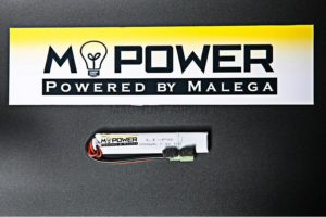 Аккумулятор Mpower 7,4 Li-Po 15C 1000 Mah короткий