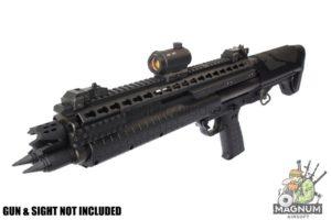 Nitro.Vo KSG Keymod Long Top Rail for Tokyo Marui KSG Shotgun