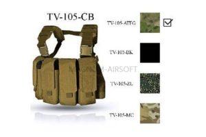 Нагрудная разгрузочная система Chest Rig MK 2 ТV--105-ATFGN  ATACS-FG НЕОРИГИНАЛ ВЕКТОР WARTECH