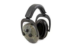 Наушники активные стрелковые PMX Tactical PRO PMX-360RTC 3D Sound 24-80 Дб зеленый камуфляж
