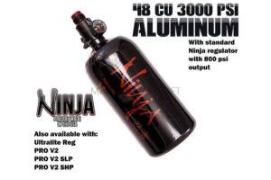 Ninja 48cu 3000 psi aluminum air tank