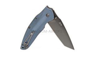 Нож Kizlyar Supreme Zorg (G10) D2 серый титан