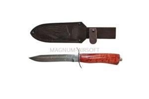 Нож НТ19 У10А-7ХНМ никель, стабилизированная береза