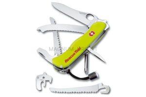 Нож для спецслужб с фиксатором лезвия Victorinox RESCUE KNIFE (с петлей на лезвии) (шт.) 0.8623.MWN