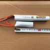 Аккумулятор li-on ,для m249 , в приклад м4, ак серии ,3000 mAh 10.8V  30С (силовой, для 120-180 м/c тюнингов)x2