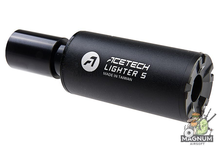 ACETECH Lighter S Pistol Tracer Suppressor (M11 CW Thread) w/ Adaptor (M11 CW to M14 CCW)