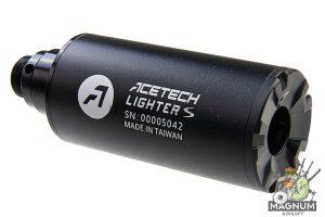 ACETECH Lighter S Pistol Tracer Suppressor (M14 CCW Thread) w/ Adaptor (M14 CCW to M11 CW)