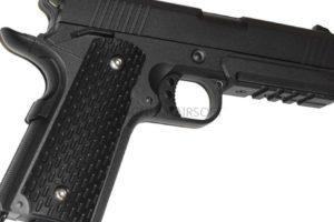 ПИСТОЛЕТ ПНЕВМ. Colt 1911 PD Rail  (Galaxy) G.25 SPRING